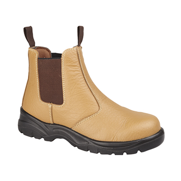 GRAFTERS PULL ON SAFETY BOOT - STEEL