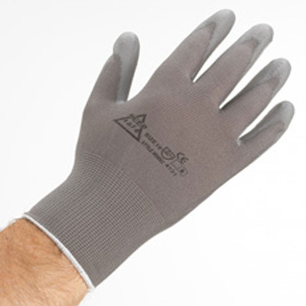 Nylon PU Gloves