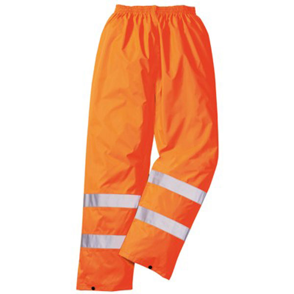 High Vis Rain Trousers