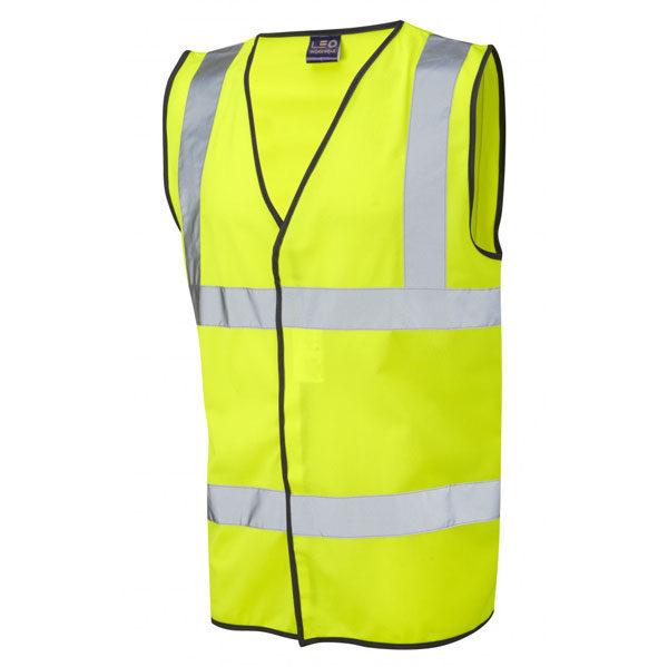 High Visibility Yellow Waistcoat