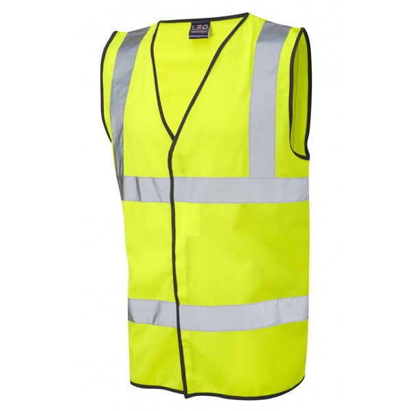 High Visibility Yellow Waistcoat